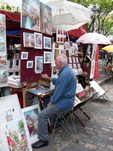 Place de Tertre, Montmartre